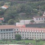 Hotel visto do Monte Brasil