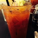 Delicious Bloody Mary, made to order.