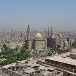 Widok z Cytadeli na Kair