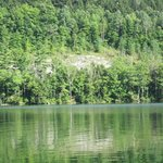 cliff at Emerald Lake