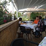 Farm to Table outdoor seating area