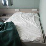 lenzuola di un letto singolo in un letto da 1 piazza 1/2
