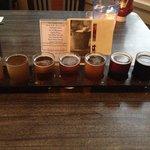 7-beer sampler