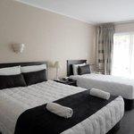 Allenby Park Hotel : La chambre