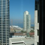 Westin San Diego --- Small bay view from the room 1911