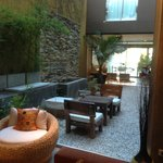 zona living in comune dell'hotel