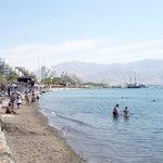 Eilat  Israel - der Strand
