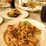 Fried Adriatic squid