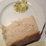 Hot homemade bread with a delicious garlic and parmesan dipping sauce