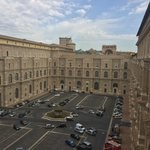 Picture from window inside Vatican tour