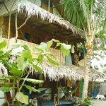 Haupthaus mit 2 dz cabanas.
