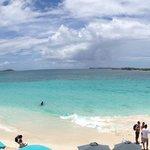 La Baie Orientale vue de la terrasse du Sun Beach