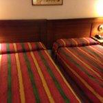 camas estaban bien comodas
