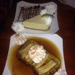 Key Lime Pie and Bananas Foster Monkey Bread Dessert