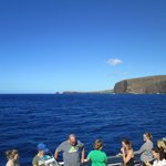 Approaching the snorkel site