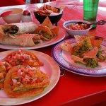 fish tacos & burrito