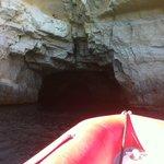 cueva en zona acantilados