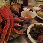 Crab legs...fresh!!!
