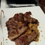 Delicious lamb and cuscuz