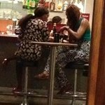 The regular Prostitutes at the lobby bar