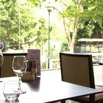 McMahons Restaurant overlooking the Botanic Gardens