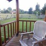 Elijah's Rest Cabin porch