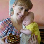 Baby's first sprinkle donut