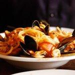 Seafood Pasta, Yum
