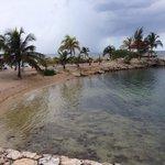 Beautiful lagoon area