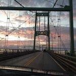 the bridge to Wellesley