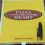Taking a Watsonville Apple pizza to go home with us!