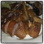 Crispy Duck...not the one you need to order a day ahead.