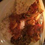 Everything was very tasty, especially the Eggplant Bhaji and Aloo Gobi (cauliflower dish).