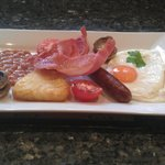 Tasty well presented full breakfast