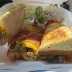 Texas-Arizona sandwich