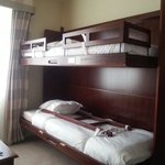 Superior room fold down bunk beds