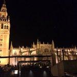 Vistas desde el EME Bar Sevilla
