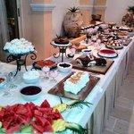 Buffet dessert Soirée barbecue