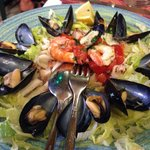 Antipasto di insalata di mare