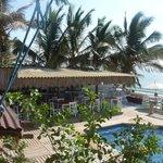 The terrace / swimming pool