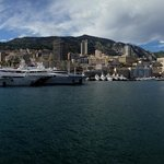 Der Marina Port Hercule von Monte Carlo / Monaco