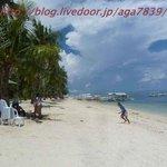 マラパスクアのビーチ