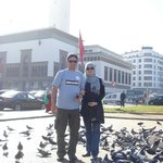 With Pigeons