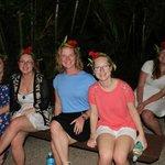 Melanesian Feast (excuse the sunburn)