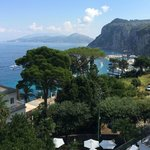 Amazing views over the island and towards Sorrento