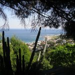Ausblick von der Terrasse der Beach Suite
