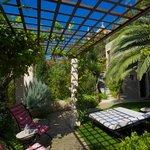 Entspannung pur in der schönen Gartenanlage