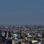 Vista desde la Terraza del Praktik Metropol Madrid