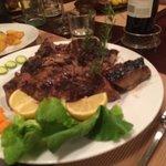 Steak florentine