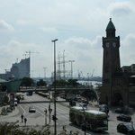 Vom Hotel Hafen Hamburg aus gesehen
